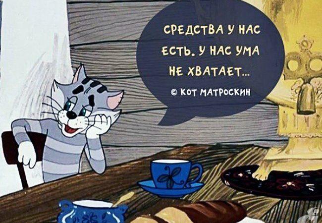 простоквашино, кот мотроскин