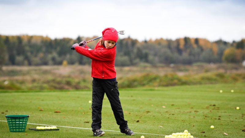 гольф в школах