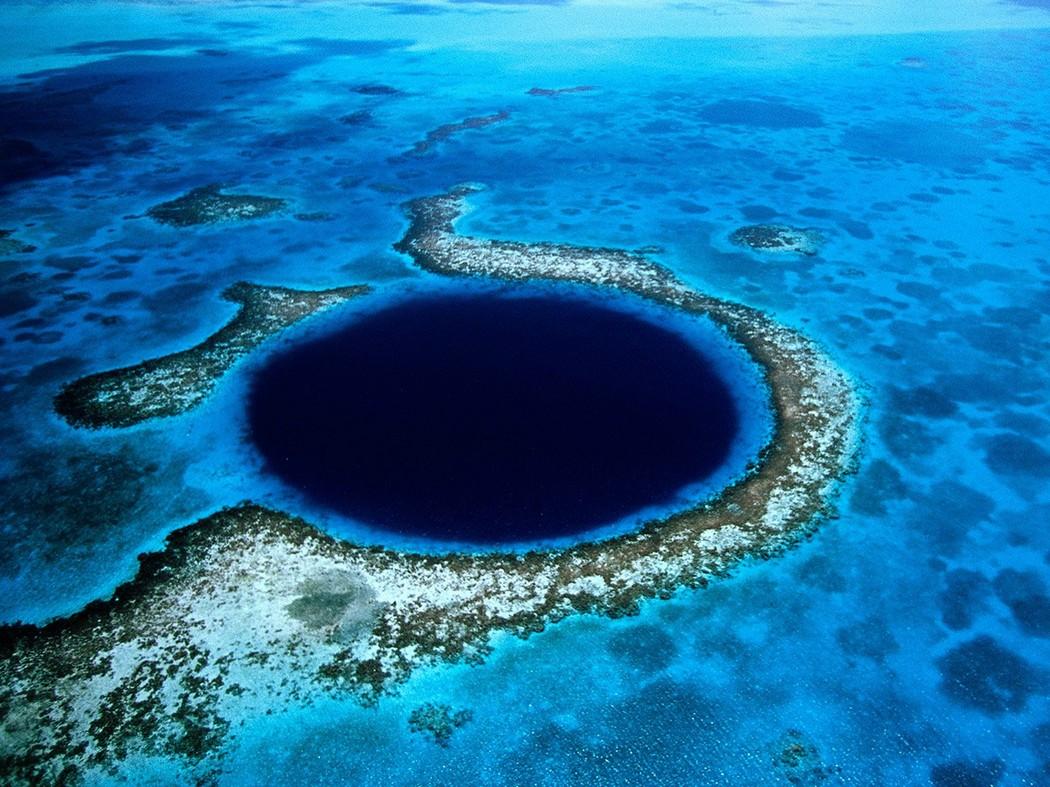 Белизский Барьерный риф. Большая голубая дыра