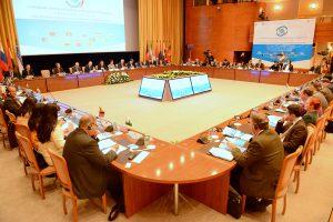 На повестке форума также стояла концепция «Экономического пояса Шелкового пути», создание собственной банковской системы ШОС, взаимодействие с авторитетными международными организациями, такими как ООН, ОСЕАН, ОДКБ
