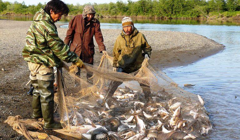 ловля рыбы племенами