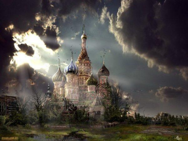 Кремль, сабор Василия Блаженного