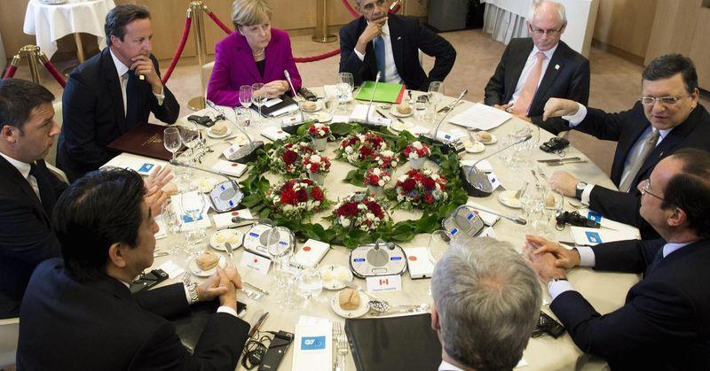 """G7, большая семёрка, """"зелёная папка"""""""