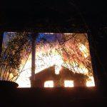 пожар, Нягань