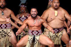 маори, танец, хака