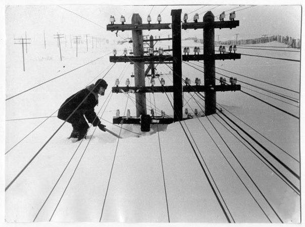 снегопад, энергетика, экстрим