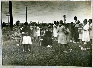 танцы, после войны, гармонь