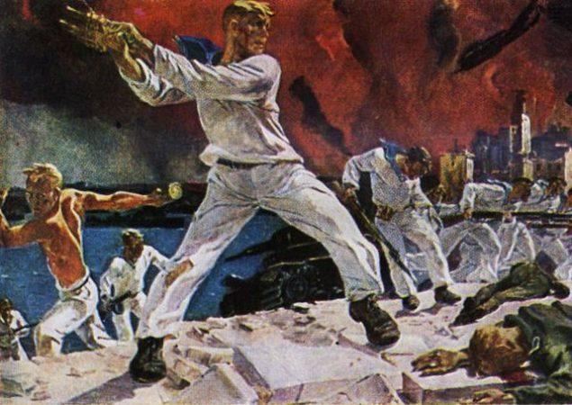 оборона Севастополя, моряк, война, ВМФ