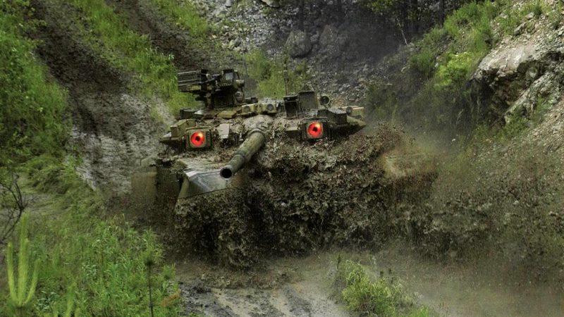 армия, танк, т-90, ОБТ