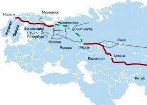 Шёлковый путь, Китай, транспорт