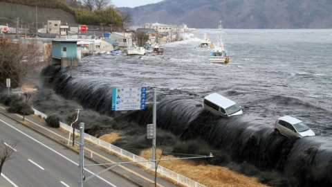 шторм, цунами, катастрофа
