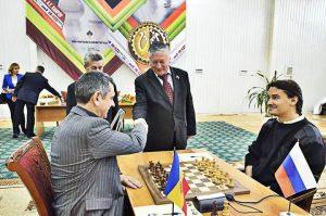 XVI шахматный турнир имени Анатолия Карпова: 2015 год