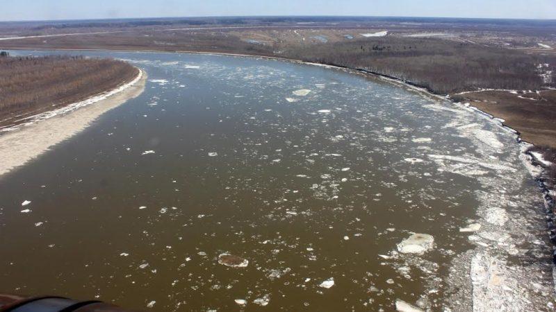 Иртыш, лёд, река