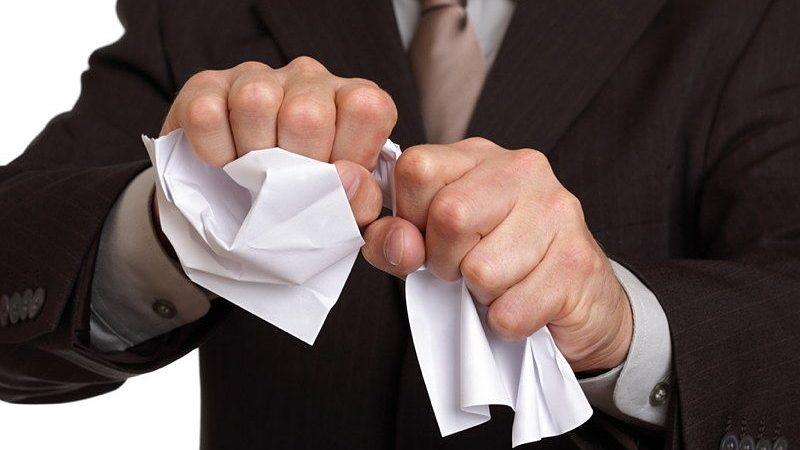 разрыв, документы, бумага, злость, стресс