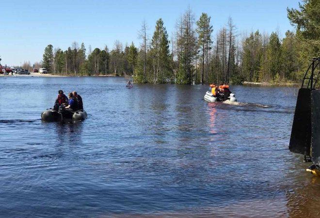 паводок, ЯНАО, экология, лодка