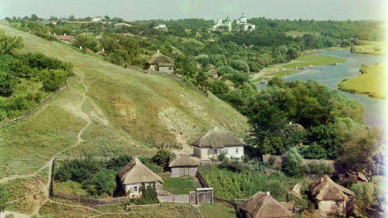 Малороссия. Фото С.М.Прокудина-Горского.