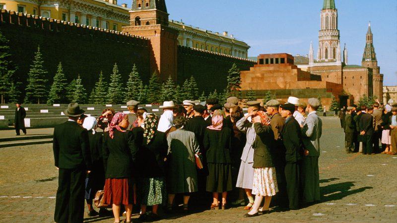 СССР, мавзолей,