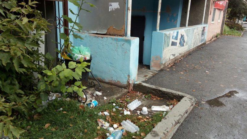 Тюмень, свалка, мусор