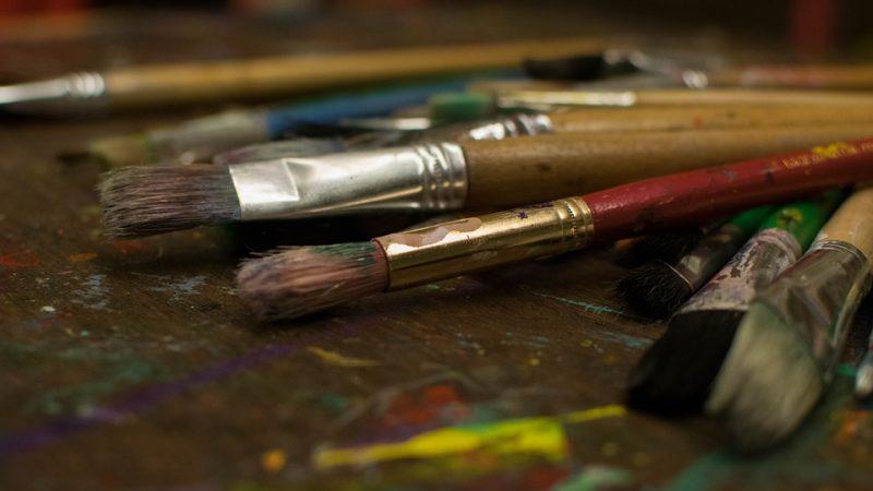 кисть, краски, художник, искусство