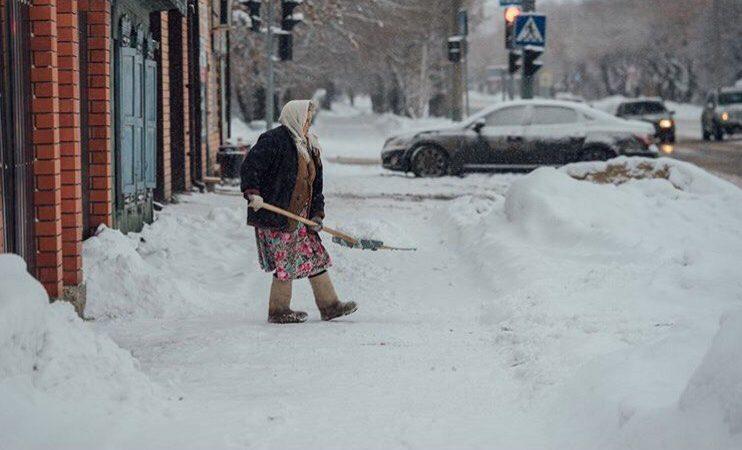 Зима. Тюмень