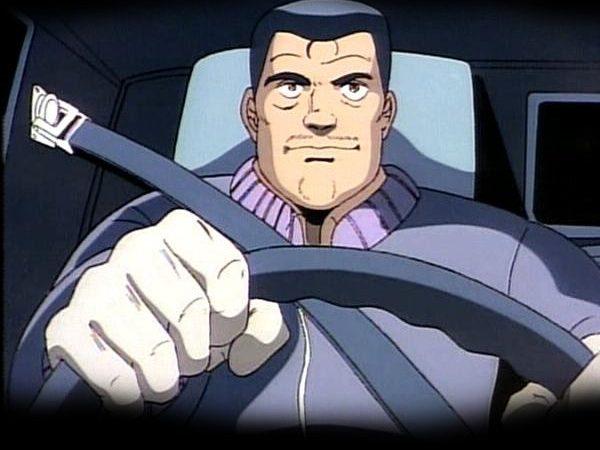 авто, аниме, водитель,