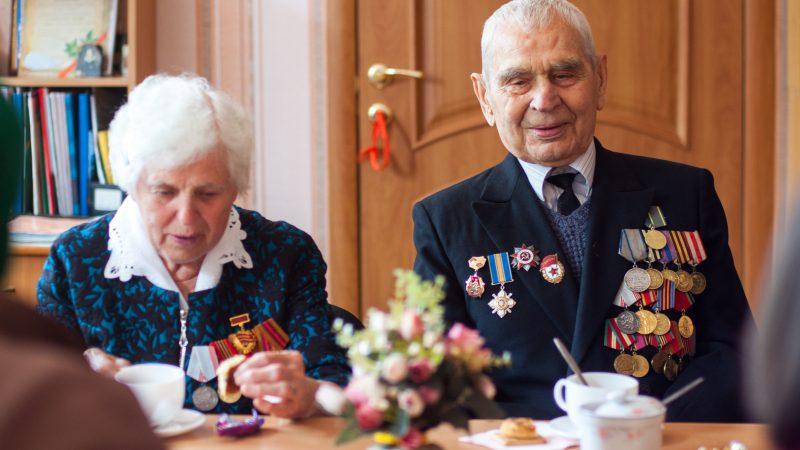 Ветераны-пенсионеры