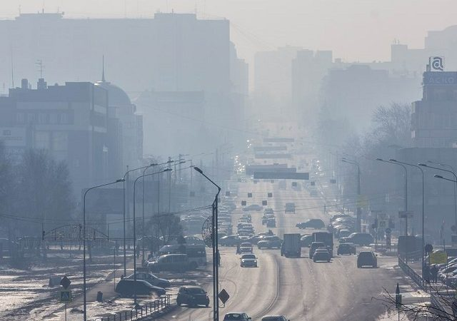 Челябинск, смог