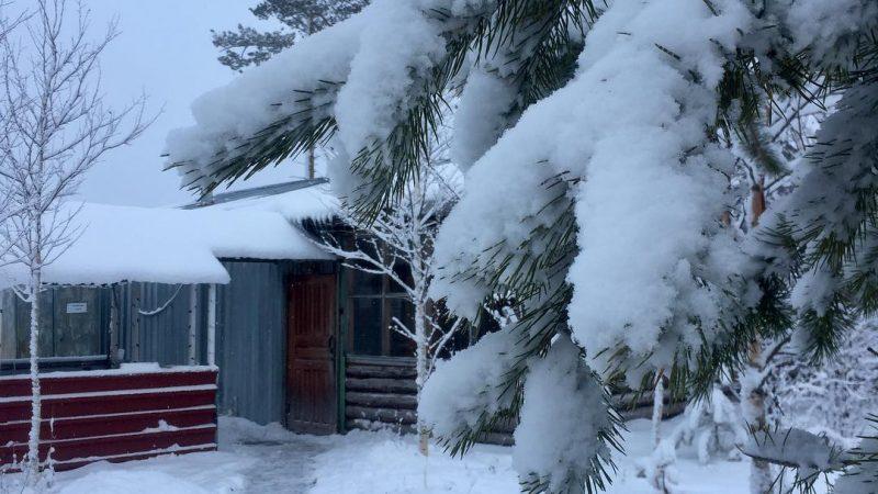 Хмао, снегопады