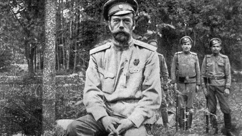 император Николай в ссылке