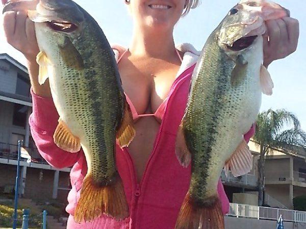 рыба, рыбалка, девушка