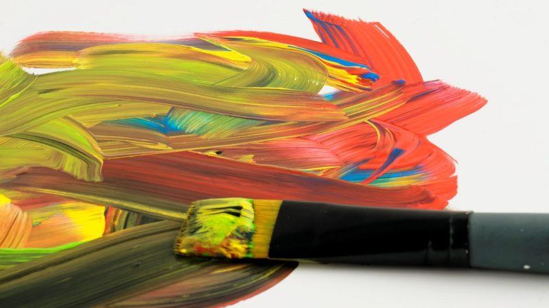 краски, искусство, художество