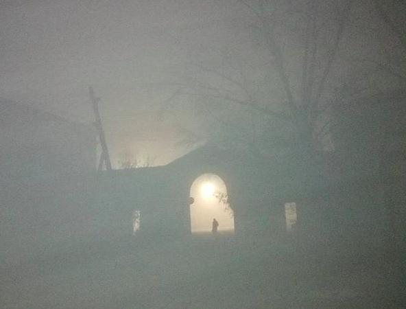 смог, Челябинск, туман