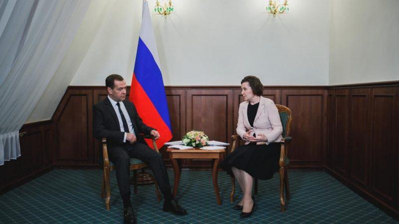 Комарова, Медведев